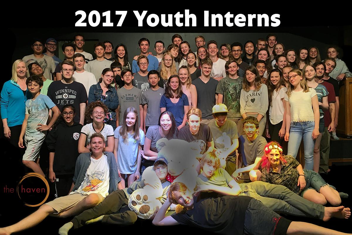 Youth Intern Training 2017 group photo