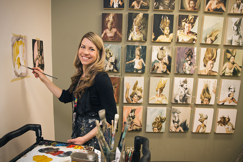 Claire Uhlick: 2014 Artist in Residence