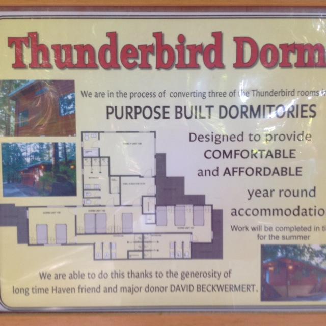 Thunderbird Dorms – an update and a sneak peek!