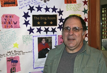 The Bing Room named in honour of Andrew Bing