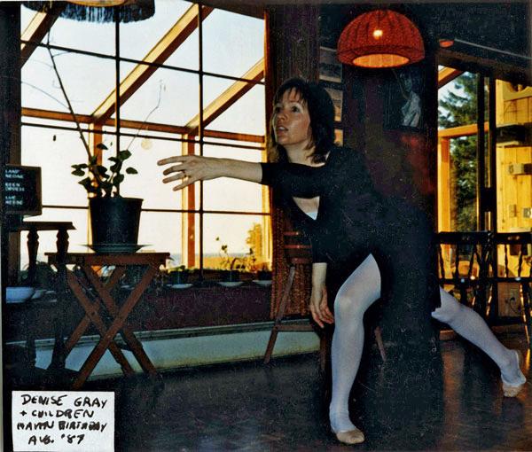 Week 6: Denise Dancing