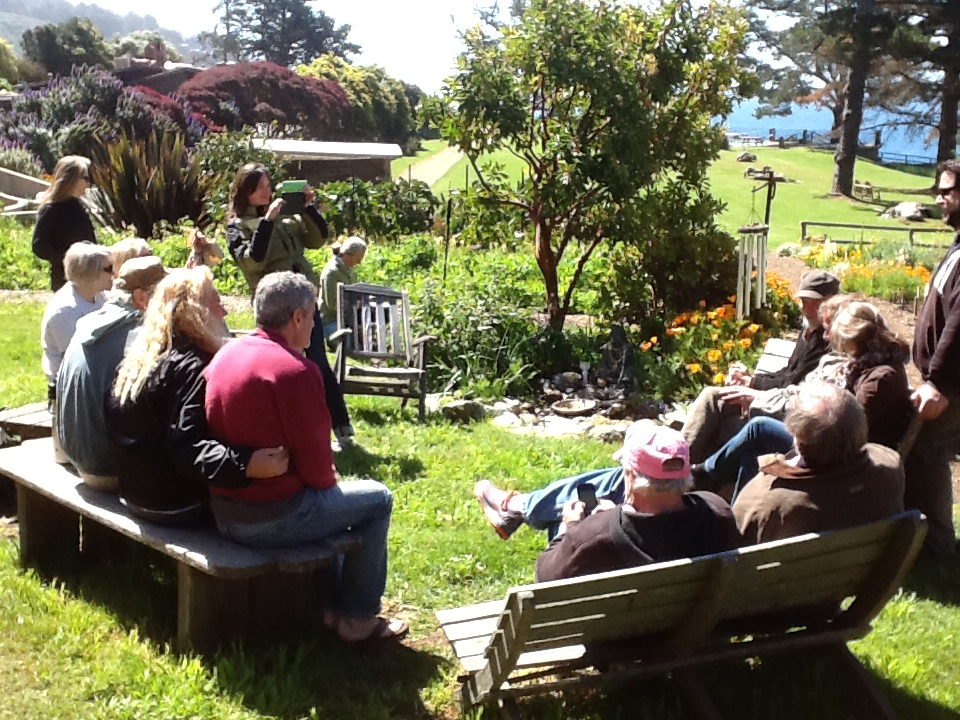 Centres' Gathering Day 3: Working in the Garden
