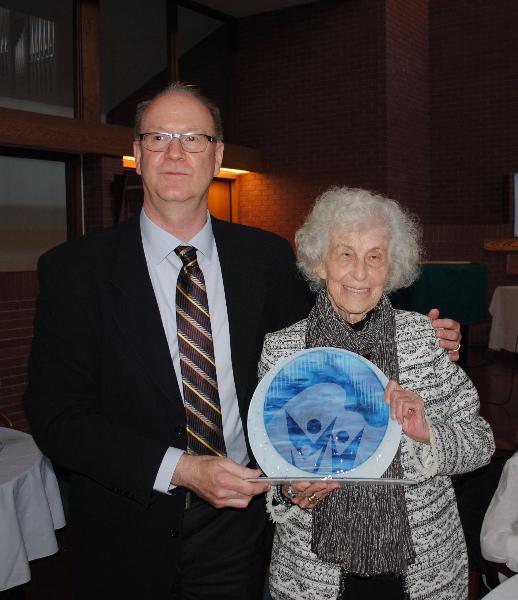 Maria Gomori Honoured by The University of Winnipeg