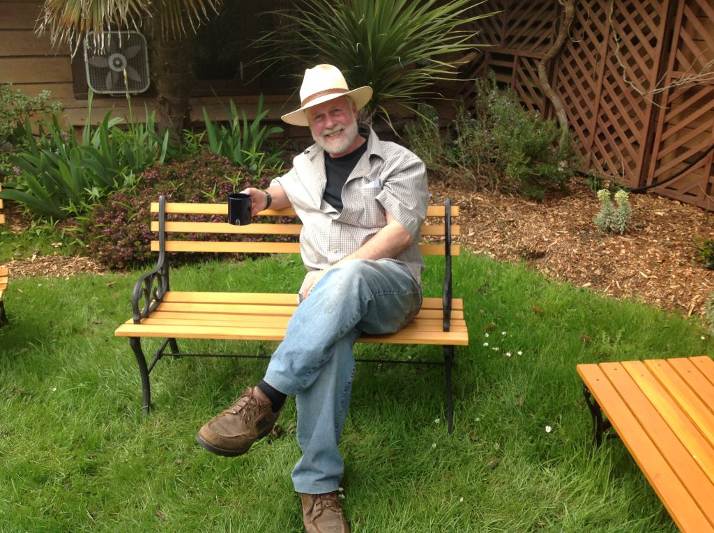 A Farewell Message from Don in the Garden