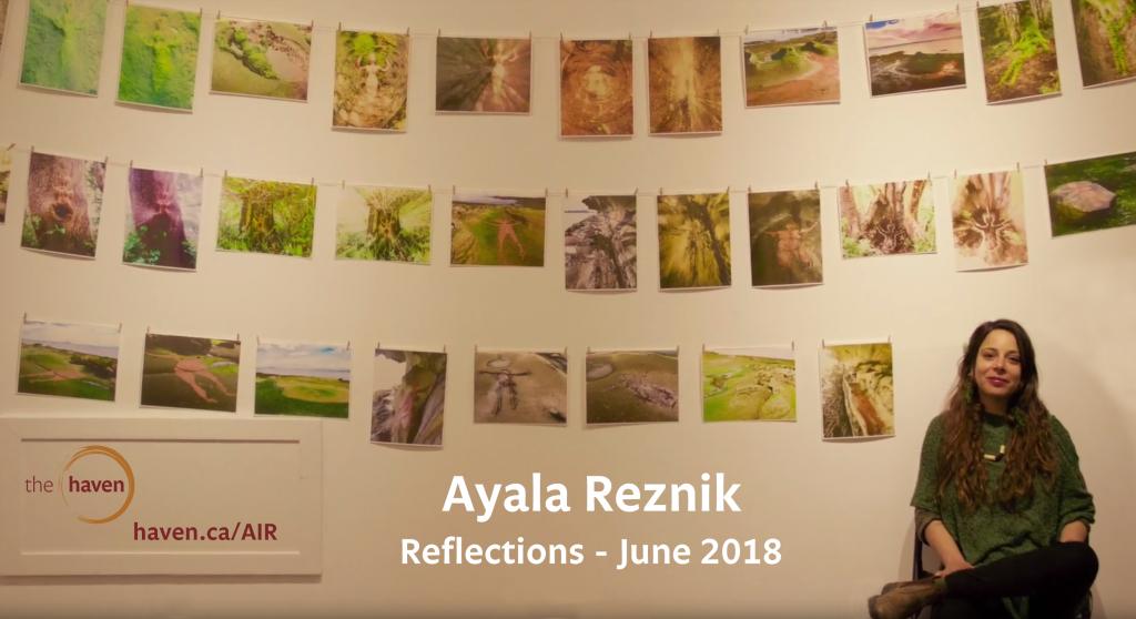 Reflections, by Ayala Reznik, AIR 2018