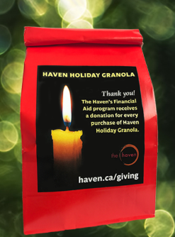 The Haven's Famous Granola: Recipe & Holiday Fundraiser