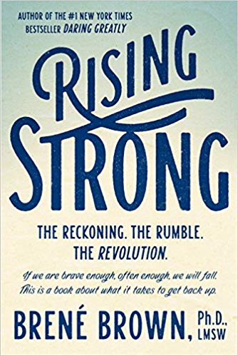Rising Strong Brene Brown Book Cover