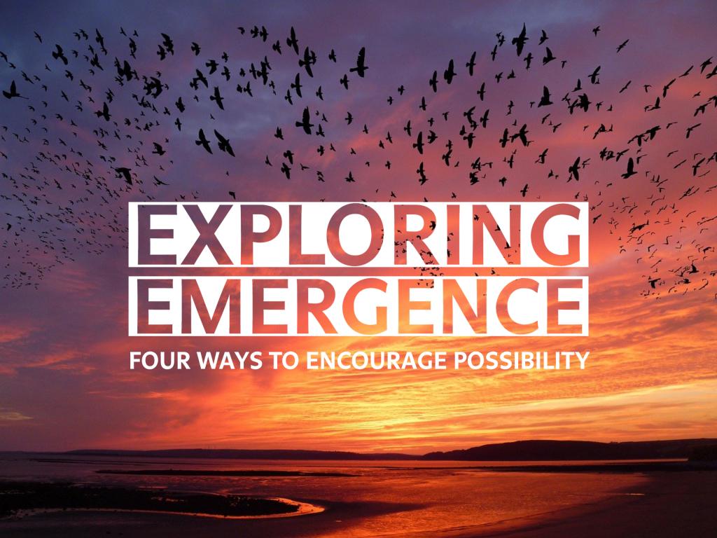 Exploring Emergence: Four Ways to Encourage Possibility